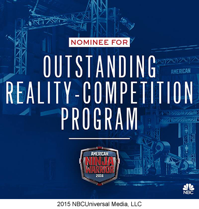 """American Ninja Warrior"" nominated for Emmy Award!"