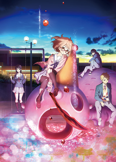 "TBS contributes characters from ""Beyond the Boundary"" anime to mega-popular Chinese smartphone app WeChat!"