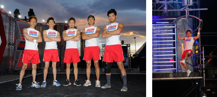 A SASUKE First!